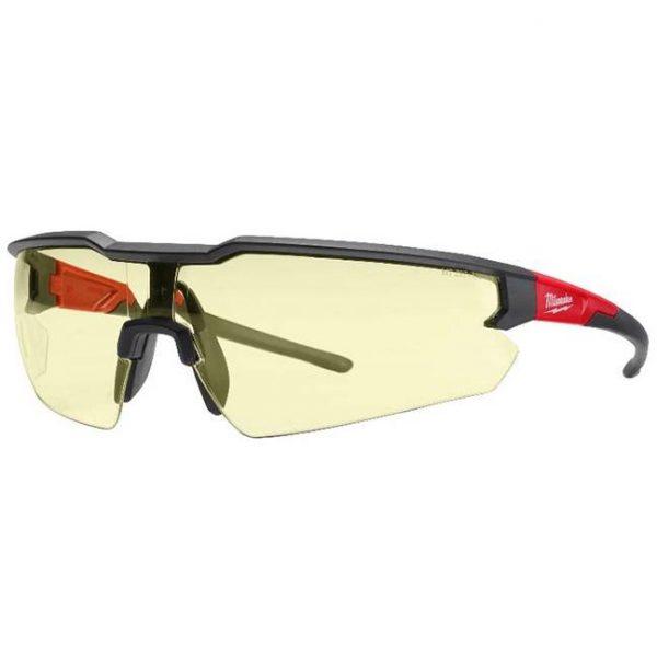 occhiali;occhiali milwaukee;occhiali di sicurezza;occhiali antinfortunistici;milwaukee;3tshop;3t tecnologie;occhiali gialli;lenti gialle;