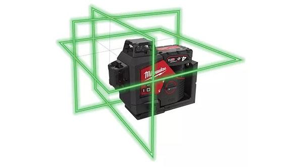 Livella laser;strumento laser;autolivella;livella milwaukee;laser milwaukee;laser raggio verde; milwaukee M12 3pl-401C;M12 3pl-401C;4933478102;3tshop;3t tecnologie;