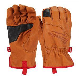 guanto pelle;guanto milwaukee;milwaukee leather gloves;4932478124;4932478125;milwaukee;3tshop;3ttecnologie;